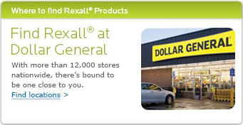 Find Rexall at Dollar General. With more than 12,000 stores nationwide, there's bound to be one close to you. Find locations